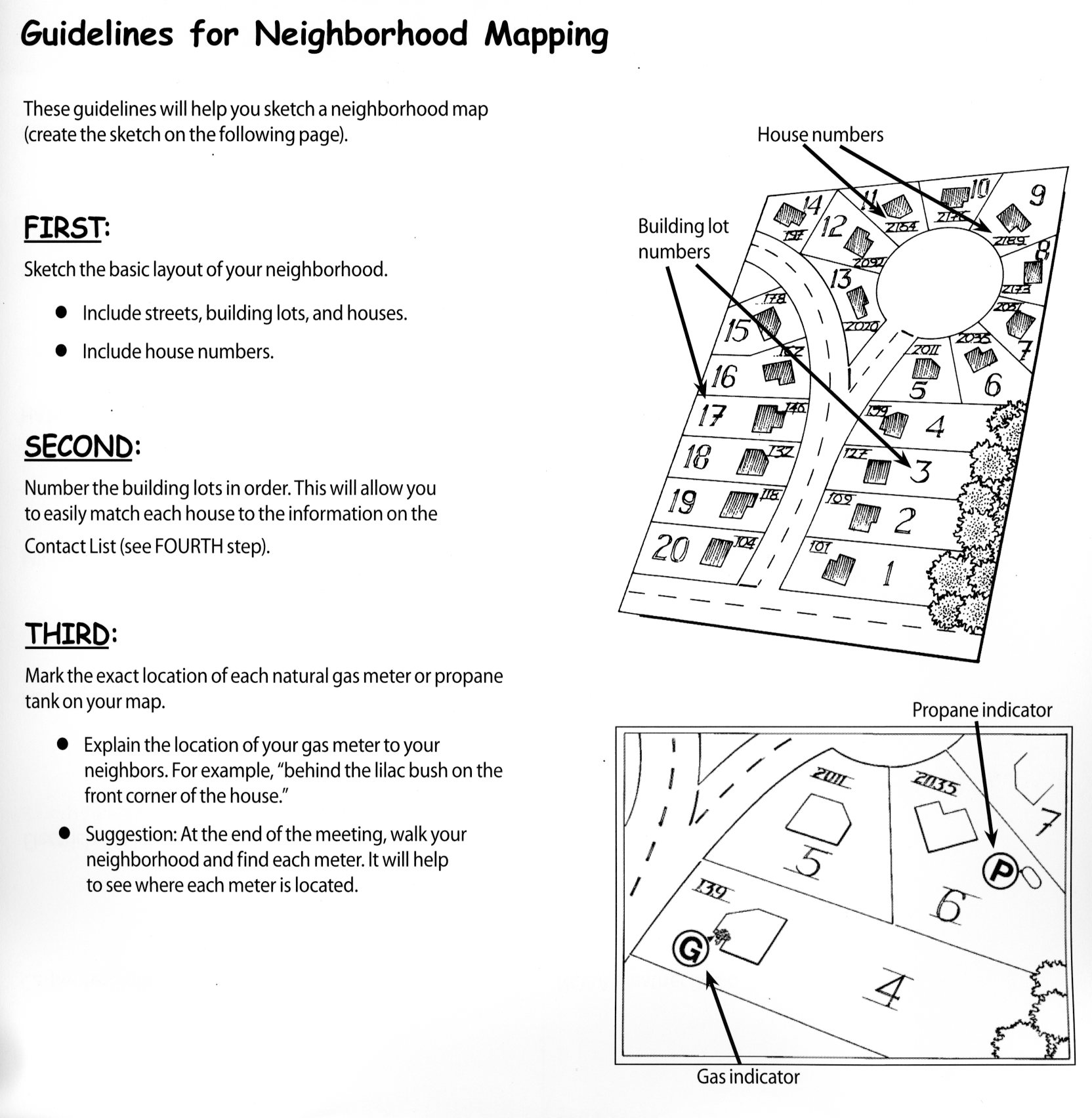MAP YOUR NEIGHBORHOOD EMERGENCY PLAN   Montage at Mission Hills